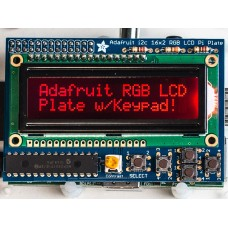 1110 - Adafruit RGB Negative 16x2 LCD+Keypad Kit for Raspberry Pi