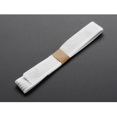 1139 - Conductive thread ribbon cable - White - 1 yard
