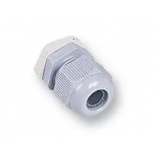 1168778 - Cable Gland, IP68 5 Bar, PG11, 5 mm, 10 mm, Nylon 6 (Polyamide 6), Grey