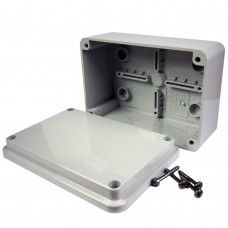 GW44205 IP56 Junction Box Smooth Walls 120 x 80 x 50