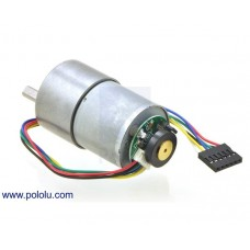 1447 - 131:1 Metal Gearmotor 37Dx57L mm with 64 CPR Encoder