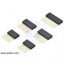 "1035 - Stackable 0.100"" Female Header Set for Arduino Shields"