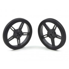 1420 - Pololu Wheel 60×8mm Pair - Black