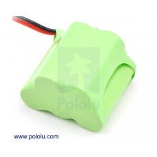 2244 - Rechargeable NiMH Battery Pack: 6.0 V, 350 mAh, 3+2 2/3-AAA Cells, JR Connector