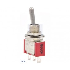 1407 - Toggle Switch: 3-Pin, SPDT, 5A