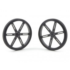 1435 - Pololu Wheel 90×10mm Pair - Black