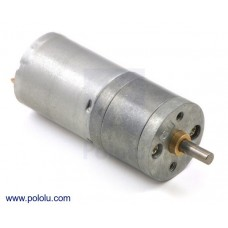 1590 - 378:1 Metal Gearmotor 25Dx58L mm LP 6V
