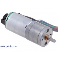 1570 - 4.4:1 Metal Gearmotor 25Dx48L mm HP 6V