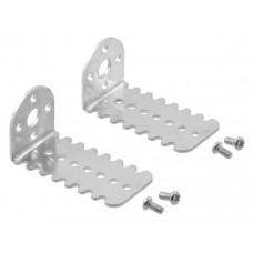 1569 - Pololu 25D mm Metal Gearmotor Bracket Pair