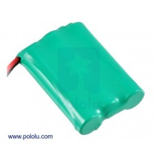2230 - Rechargeable NiMH Battery Pack: 3.6 V, 900 mAh, 3x1 AAA Cells, JR Connector