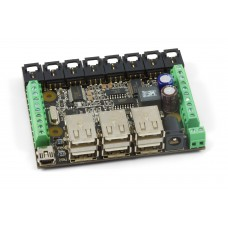 1019_1B - PhidgetInterfaceKit 8/8/8 w/6 Port Hub