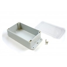 BOX4204_0 - Waterproof Enclosure (200x120x75) with Transparent Lid